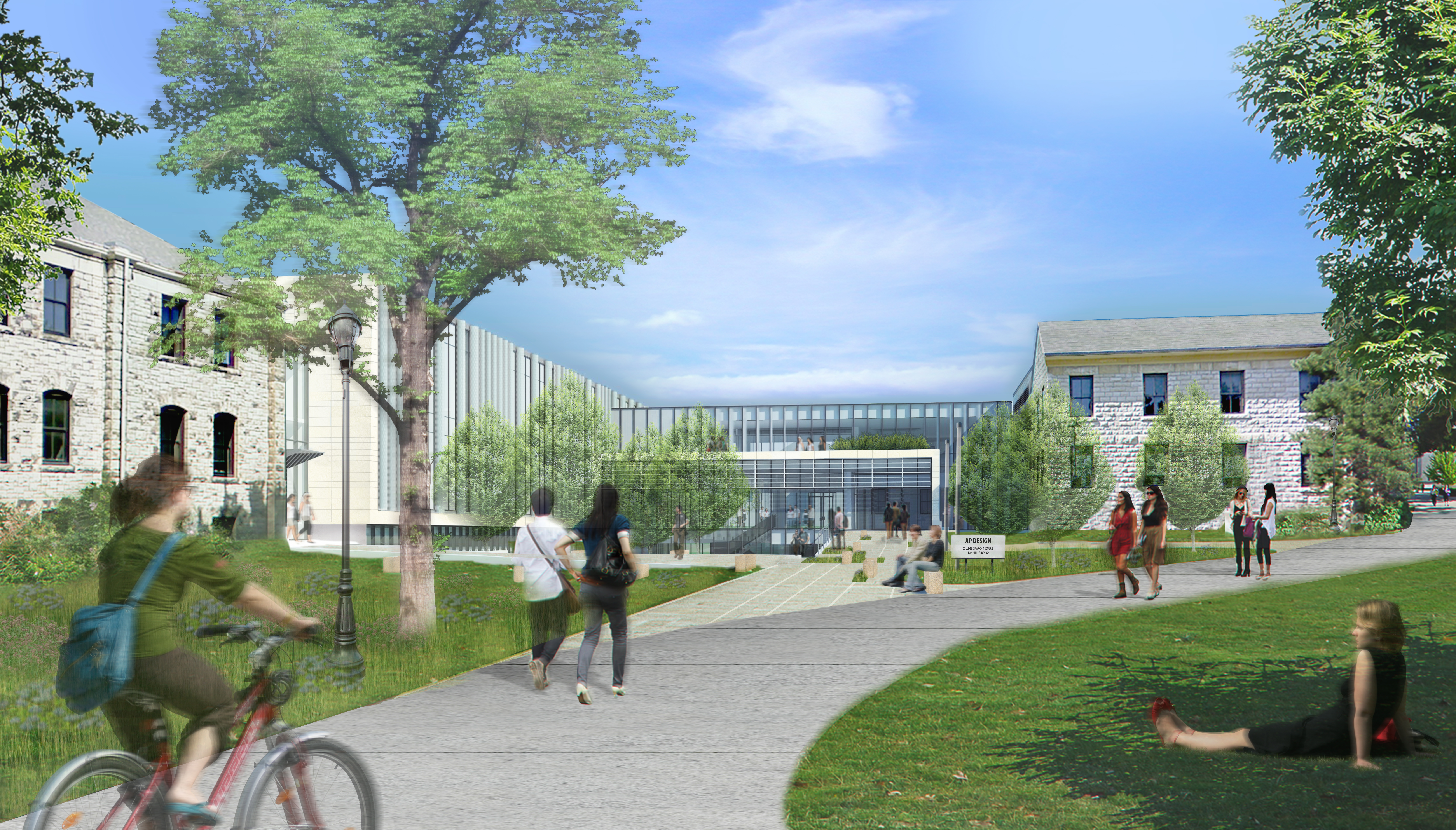 College Of Architecture Planning Design Naming Expansion Regnier