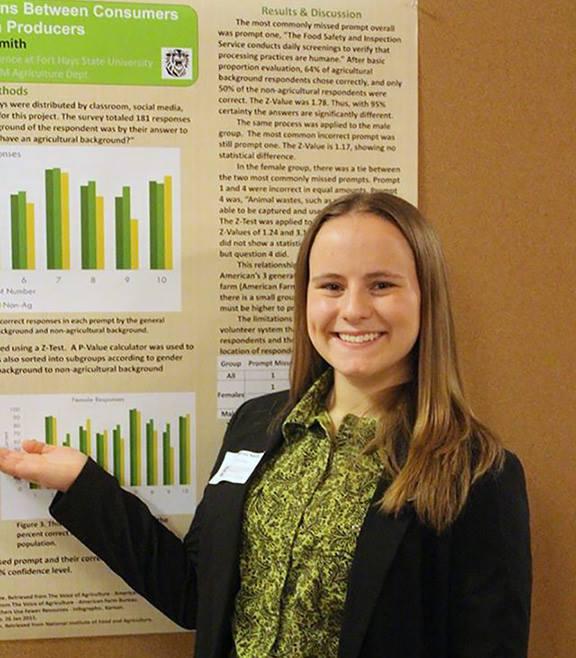 Kansas State University undergraduates receive special