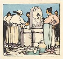 """Village Fountain"""