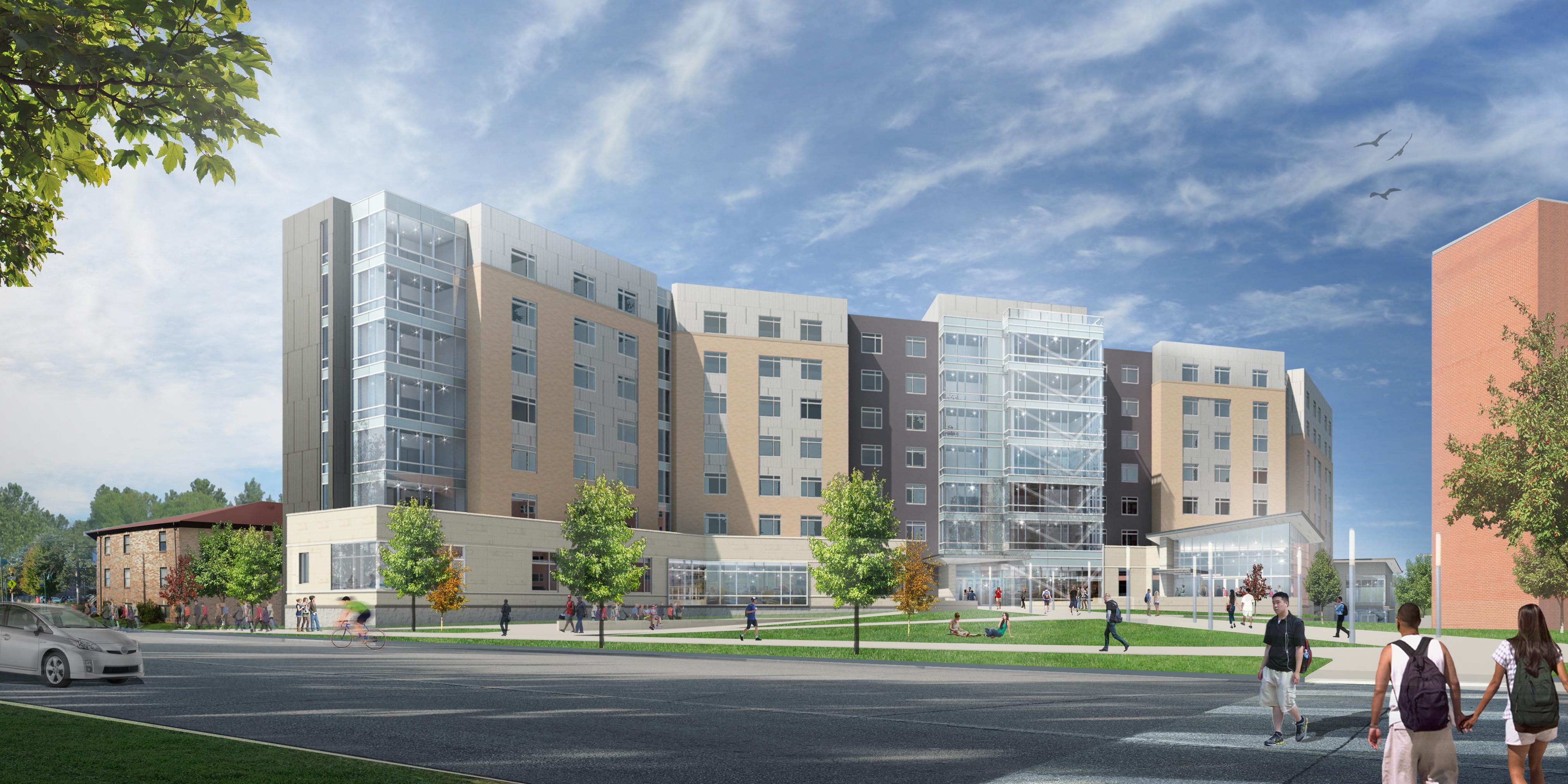 Denison University Football >> University names new residence hall for former president Jon Wefald   Kansas State University ...