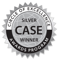 CASE Silver Award badge