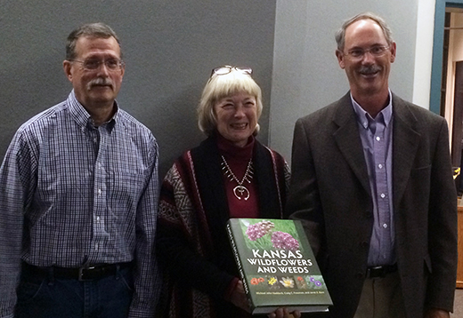 Michael John Haddock, left, Janét E. Bare, center, and Craig C. Freeman