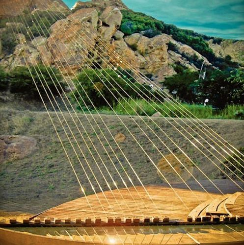 """Earth Harp Meets Oud"""