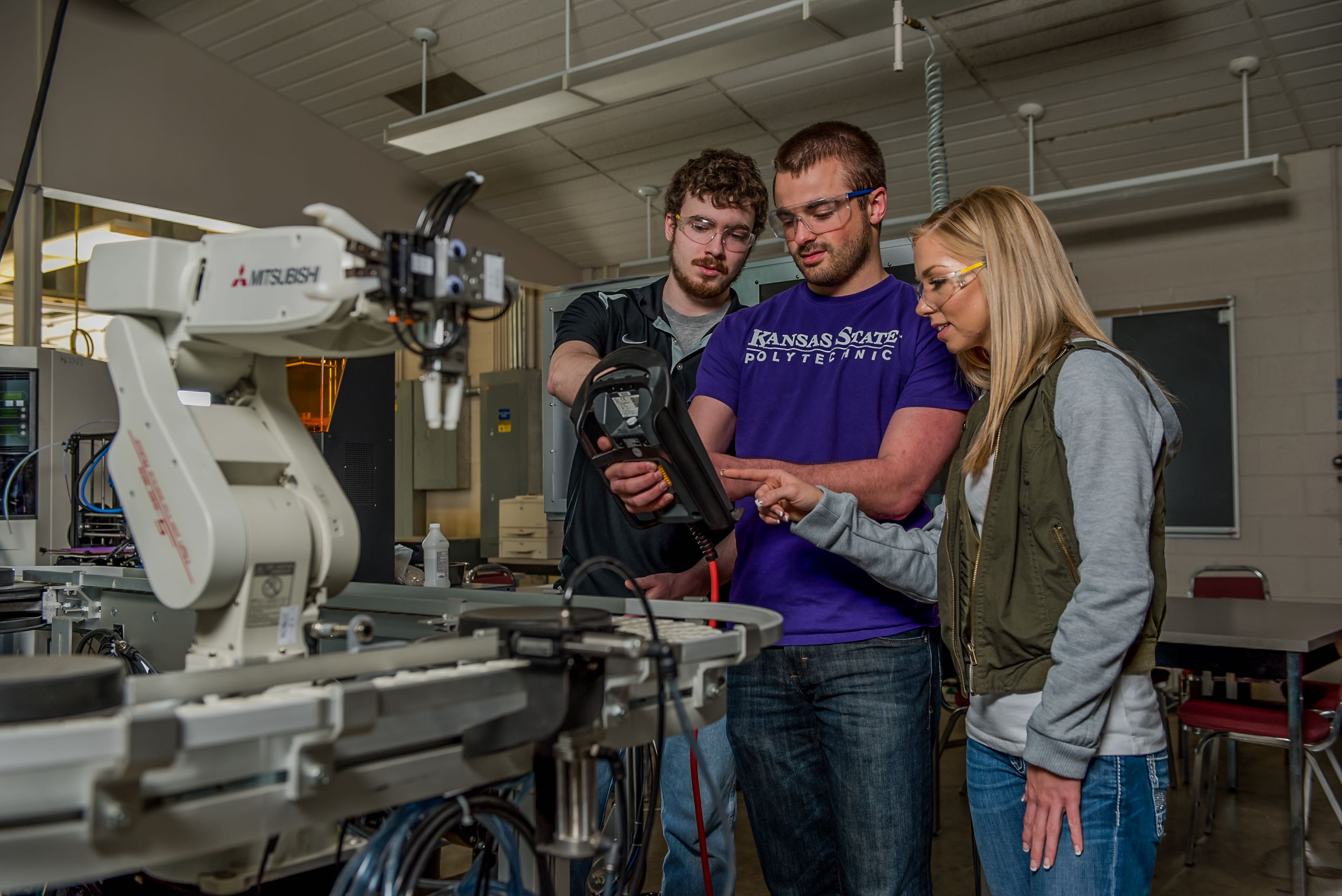 Kansas State University Polytechnic Campus Adds Robotics And