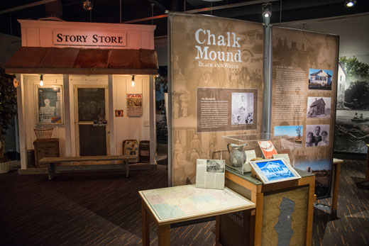Story Store at the Going Home exhibit