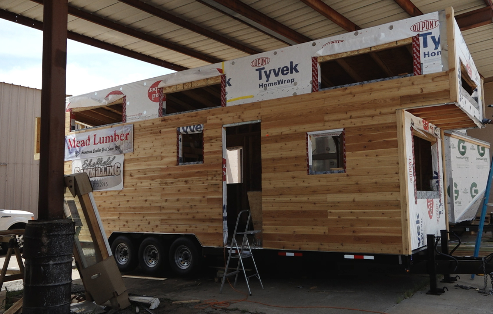 Brandon Irwin Assistant Professor Of Kinesiology And Julia Day Interior Design Are Collaborating To Build A Tiny House