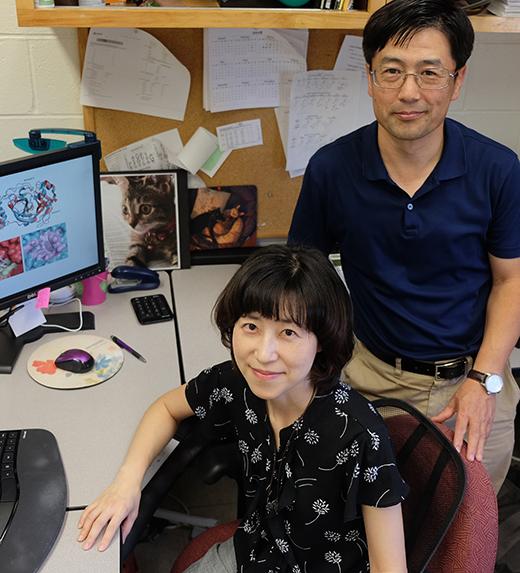 Drs. Yunjeong Kim and KC Chang