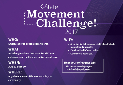 Movement challenge infograph
