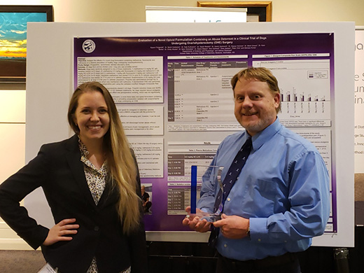 Ally Fitzgerald and Dr. Butch KuKanich