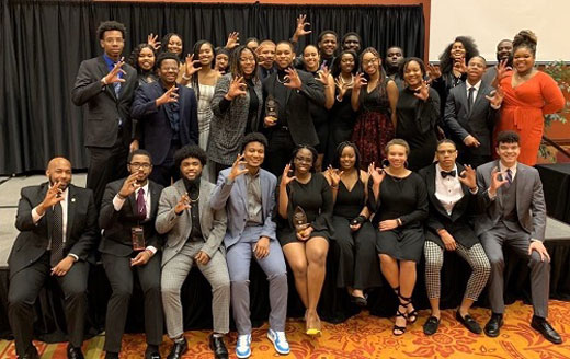 Members of Black Student Union