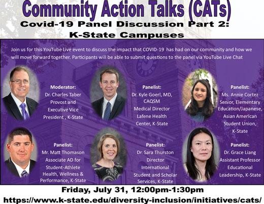 Community Action Talk COVID-19 panel part 2