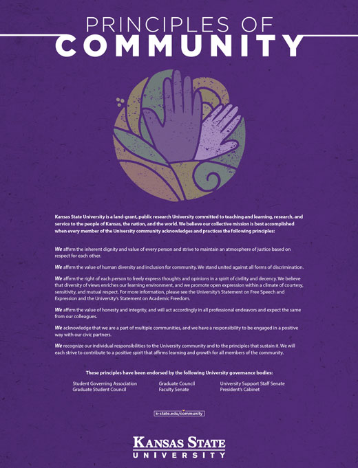 Principles of Community poster