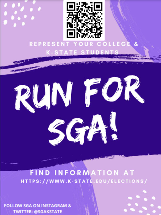 Run For SGA flyer