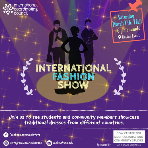 International Fashion Show poster