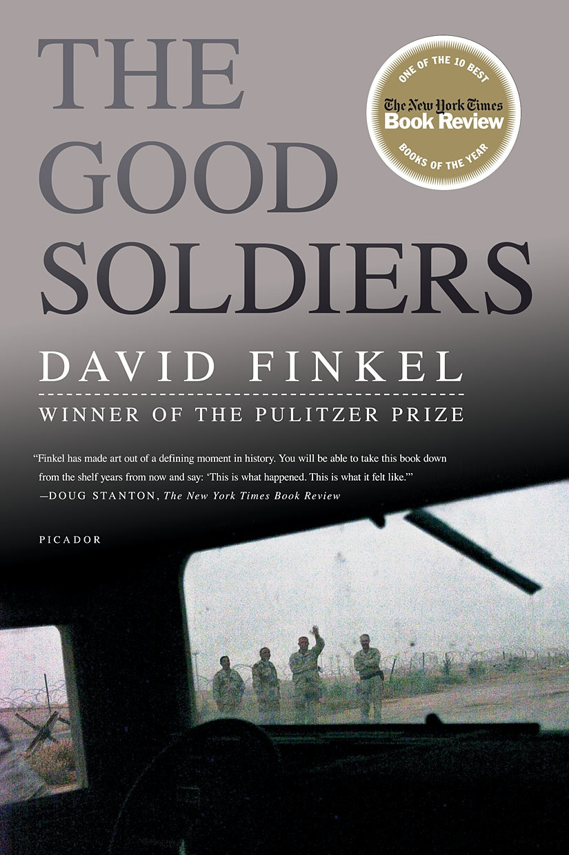 the good soldiers by david finkel essay Find great deals for the good soldiers by david finkel (2009, hardcover) shop with confidence on ebay.