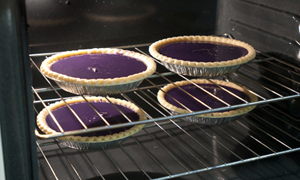 Purple Pride Sweet Potato Pie