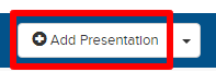 Add Presentation button