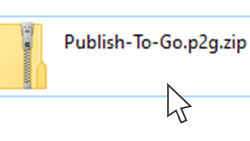 Download and Watch a Publish To Go Package
