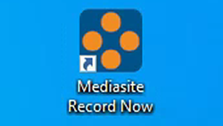 Create an Unscheduled Recording in a Mediasite-ready Room