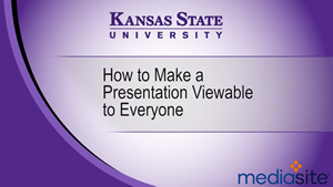 How to Make a Recording Publicly Viewable to Everyone