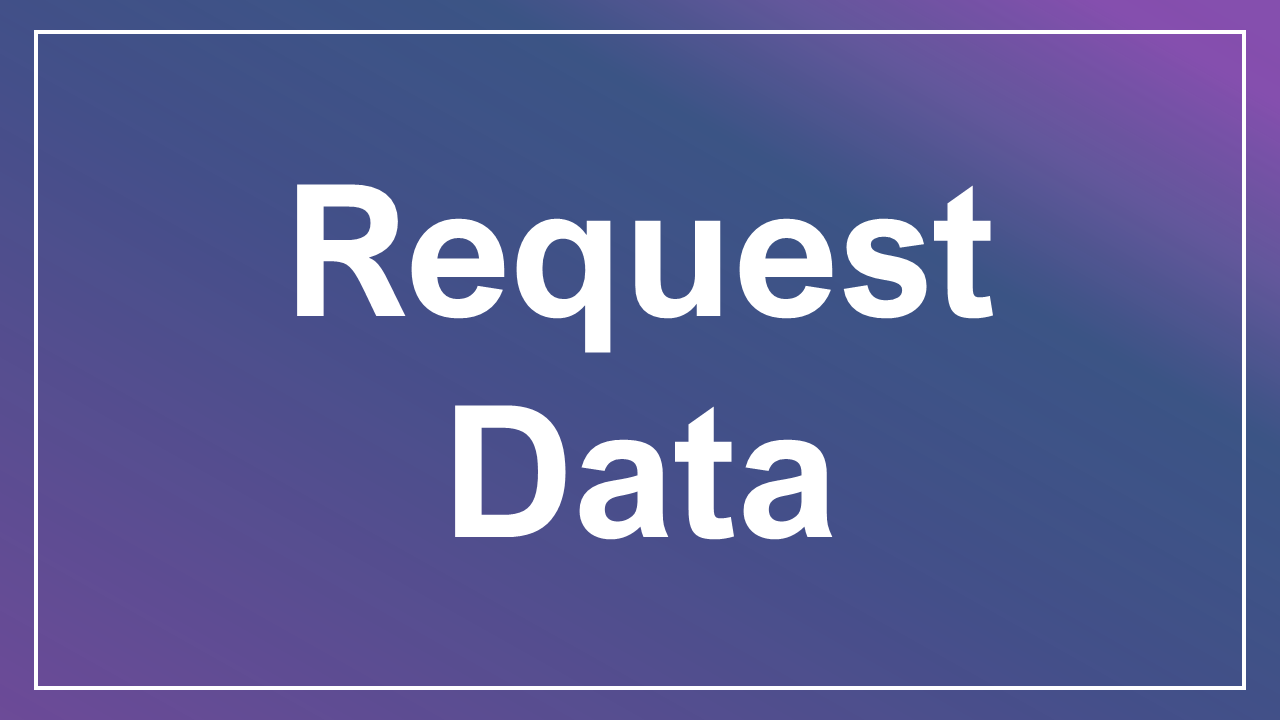 Request Data Button