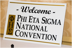 National Convention Welcome Sign