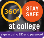 360 Degrees: Stay Safe at College logo