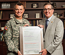 K-State, 1st Infantry Division and Fort Riley renews partnership.