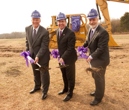 Groundbreaking for the Olathe Kansas State University Campus