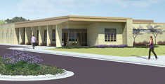 Renderings of the Intercollegiate Rowing Center