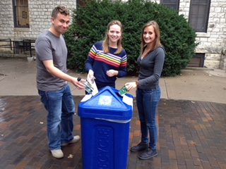K-State Students Recycle
