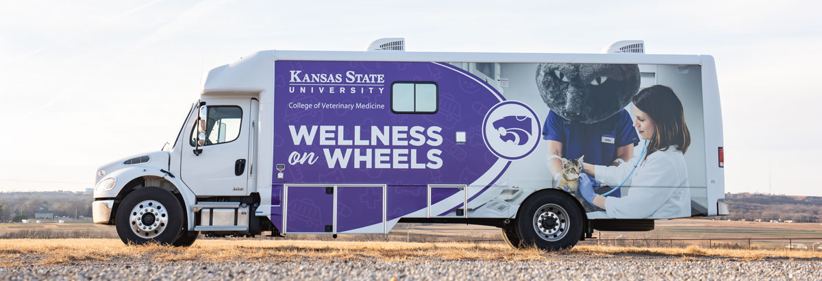 Wellness on Wheels vehicle