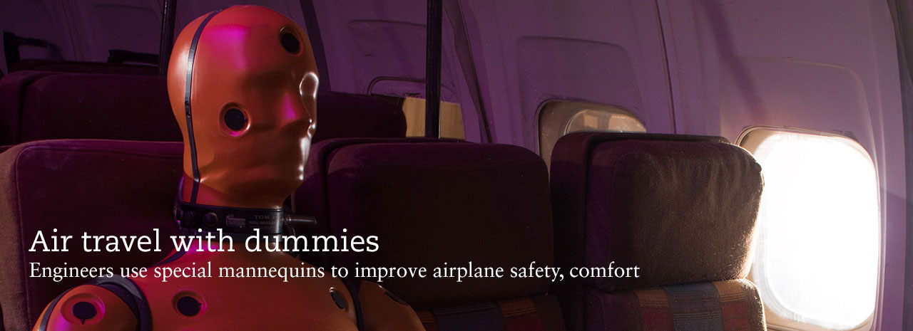 Air travel with dummies
