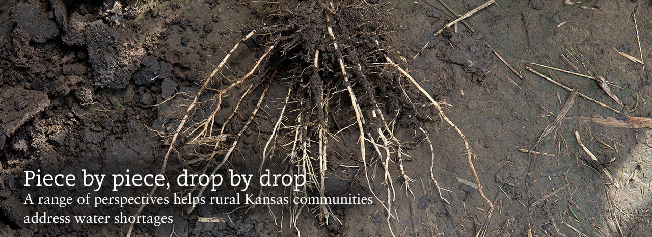 Piece by piece, drop by drop. A range of perspectives helps rural Kansas communities address water shortages.