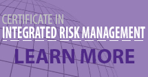 Certificate in Integrated Risk Management