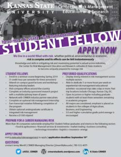 Student Fellow Application