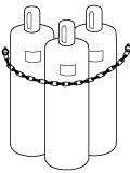 Secure Gas Cylinder