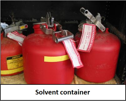 Solvent Container