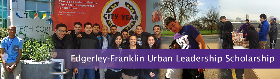 Edgerley-Franklin Urban Leadership Scholarship