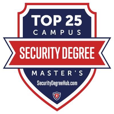 Top 25 Security Degrees