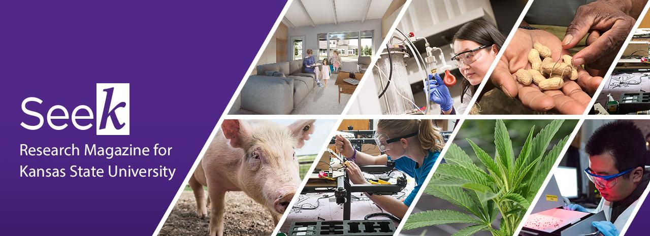 Seek research magazine for Kansas State University