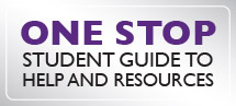Link to Student Life One Stop Website