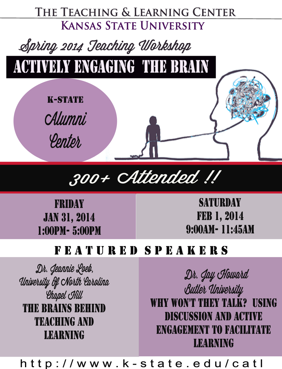 Actively Engaging the Brain-post event