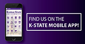 Find us on the K-State Mobile App!