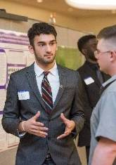 Alexander Sheikh discusses his research project.