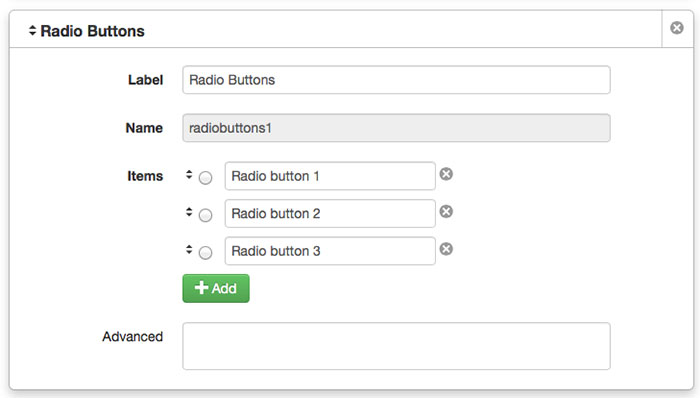 how to create radio button in html