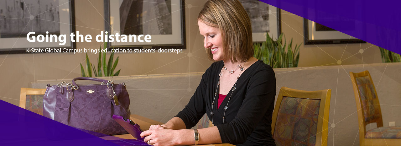 Going the distance:  K-State Global Campus