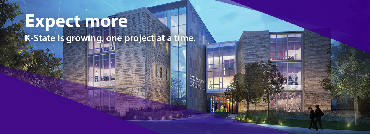 Expect more:  K-State is growing, one project at a time.