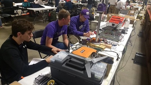 WWP members test electrical components before competition testing